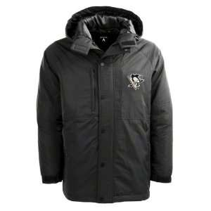 Pittsburgh Penguins Black Trek Full Zip Hooded Jacket