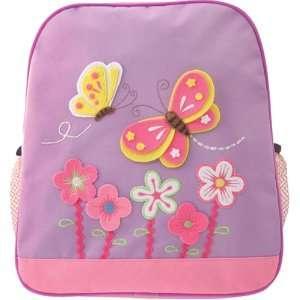 Kids Girls Purple Pink Butterfly Backpack item# kk5972h
