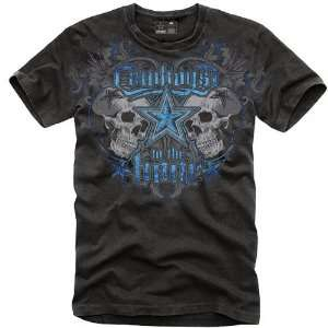 Dallas Cowboys Black Super Soft To The Bone T Shirt