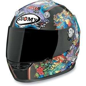 Suomy Vandal Tattoo Helmet   Small/Flash Automotive