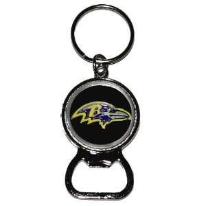 Baltimore Ravens Bottle Opener Keychain