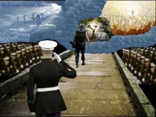 US MARINES PIN PARACHUTE JUMP WING MARINE ANGLICO RECON