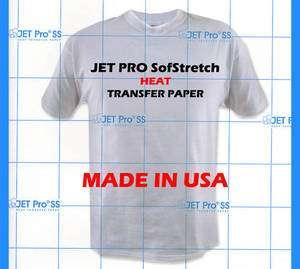 Jet Pro SofStretch Heat Transfer Paper