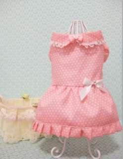 CAT Pet dog clothes Party Wedding Princess DOG Clothe dress XS,S,M,L