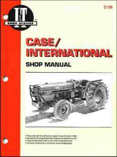 CASE INTERNATIONAL TRACTOR 385 TO 885 REPAIR MANUAL