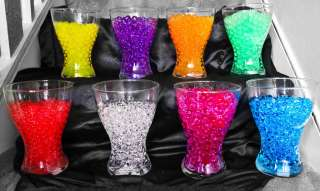 PACK AQUA WATER CRYSTALS FOR FISH BOWL WEDDING TABLE DECORATION