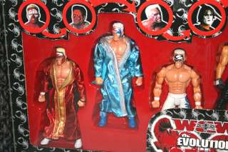 WCW TNA Impact EVOLUTION OF STING wrestling figures MIB