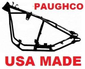 PAUGHCO WISHBONE RIGID BOBBER FRAME~Harley 180 200 TIRE