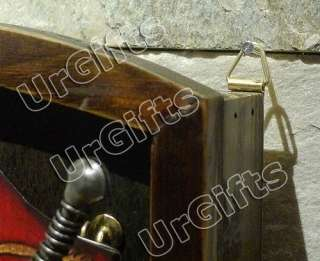Medieval Knight Armor Metal Decorative Key Shadow Box A