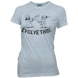Mens Paul Evolve This Jesus vs Darwin T shirt Clothing