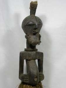 Superb African Tribal Art SONGYE Nkisi Power Figure