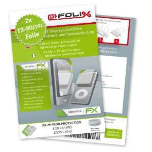 atFoliX FX Mirror Stylish screen protector for Easypix DVX5530HD / DVX