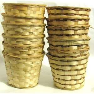 Baskets (Set of 12) 8 Diameter x 6 High Arts, Crafts & Sewing