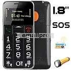 Big Button SOS Edler Old Senior Mobile Phone cell phone FM Radio Torch