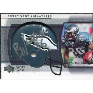 2004 Upper Deck Sweet Spot Signatures #SSBW Brian