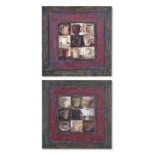 Coffee Wine Kitchen Art By Uttermost 35050
