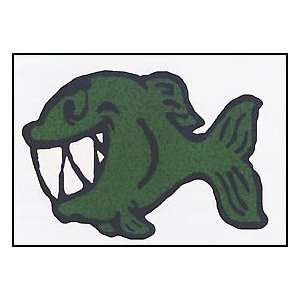 Green Fish Temporaray Tattoo: Toys & Games
