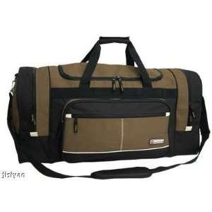Sport Duffel Duffle Travel Tote Bag Luggage KHAKI