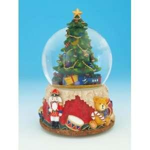 Christmas Tree Musical Rotating Snow Globe