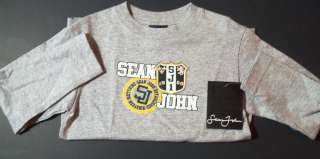 Boys Long Sleeves Sean John Children Kids T Shirt