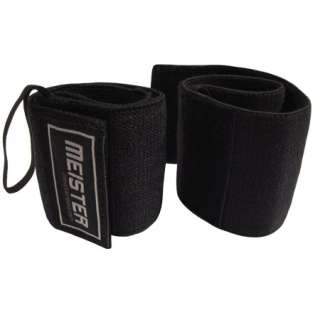 Elastic Support Weight Lifting w/ Thumb Loop   Meister Straps