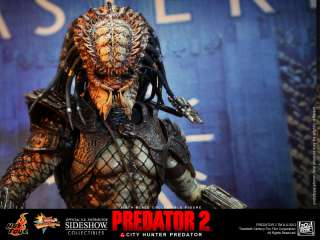 Predator 2  City Hunter Predator HOT TOYS FIGURE