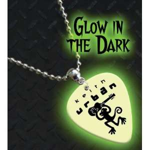 Keith Urban Glow In The Dark Premium Guitar Pick Necklace