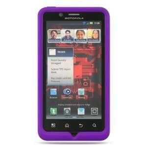 VMG Purple Premium High Quality Soft Gel Silicone Rubber Skin Case