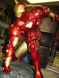 Marvel Universe Sideshow Iron Man Comiquette # 156 of 750 Avengers