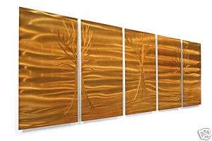 Metal Wall Art Abstract Decor Modern Wall Hanging Deco