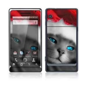 Droid 2 Skin Decal Sticker   Christmas Kitty Cat