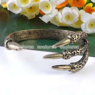 style Punk Gothic Vintage Eagle Bird Claw Talon Ring/Bangle Bracelet