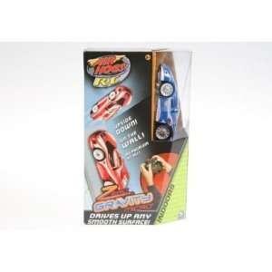 Air Hogs R/C Zero Gravity Micro Blue Race Car Channel D Toys & Games