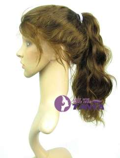 Body Wave * High Ponytail * Full Lace Indian Remy Hair Wig 14   24