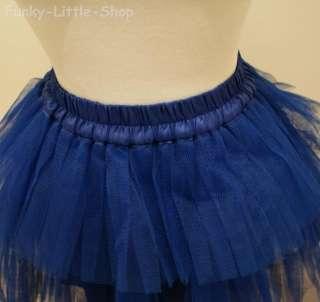 diy blue fairy tutu skirt gothic lolita punk rock Q003
