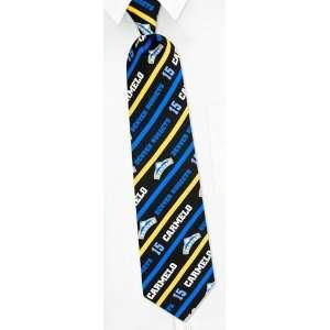 NBA Denver Nuggets   Carmelo Anthony black silk Tie