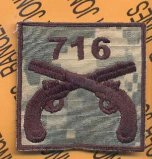 716 MP Military Police 101 Airborne HCI Helmet patch D
