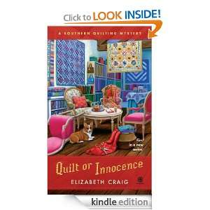 Quilt or Innocence A Southern Quilting Mystery Elizabeth Craig