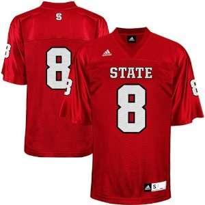 NCAA adidas North Carolina State Wolfpack #8 Replica Football Jersey