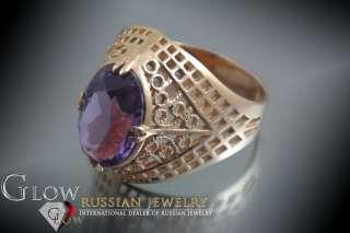 Russian gold amazing Alexandrite ring #vrax069   SPLENDED