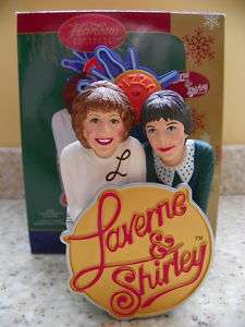 Carlton Cards 2006 Laverne & Shirley Musical Ornament