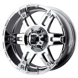 20x8.5 KMC XD Spy (Chrome) Wheels/Rims 5x139.7 (XD79728555218)