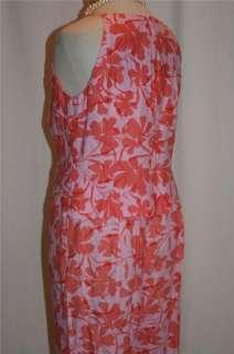 2pc Linen Top / Capri Pant Outfit ANN TAYLOR LOFT 10 12