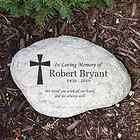 Engraved In Loving Memory Memorial Garden Stone Personalize W/Any Name