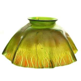 Tiffany American Favrile Glass Lamp Shade large photo
