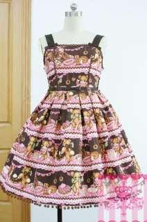 sweet gothic lolita dress bear
