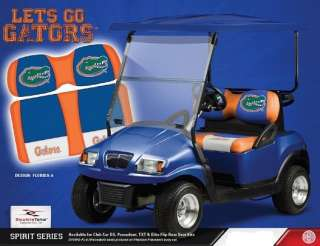 FLORIDA GATOR GOLF CART SEAT NEW SEAT SET CS F