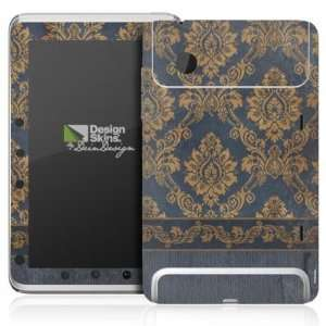 Design Skins for HTC Flyer   Blue Barock Design Folie