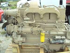 Cummins Big Cam NTC 250 Engine Assembly |