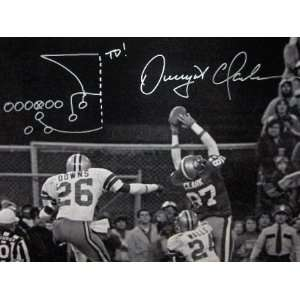 Dwight Clark Signed San Francisco 49ers 16x20 Inscribed